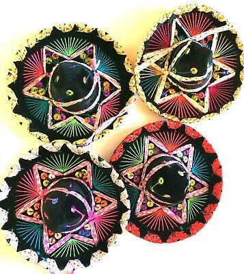 Charro Hat Small Black Mexican Mini Mariachi Sombrero 6
