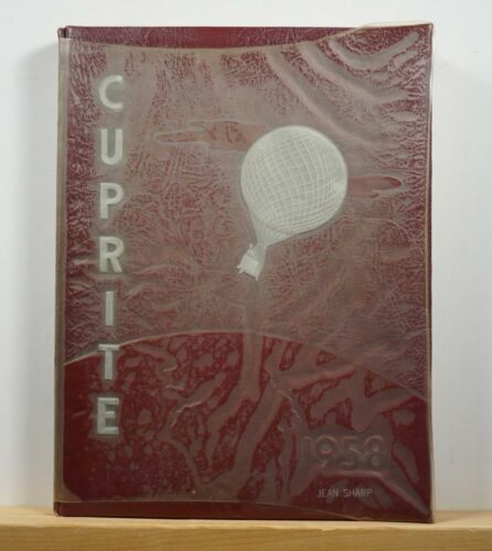 1958 Bisbee High School Yearbook - Cuprite - Arizona AZ Annual