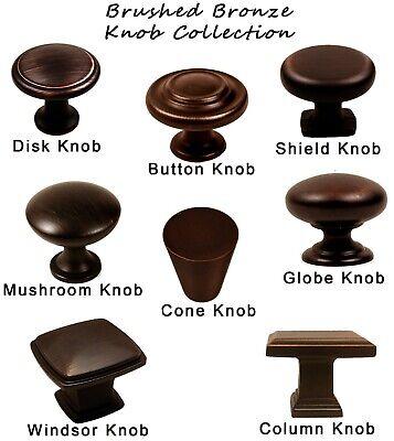 Knobs Handles Pulls Kitchen/Bathroom Cabinet Hardware Brushed Oil Rubbed Bronze Brushed Bronze Cabinet Pulls