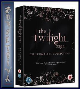 THE TWILIGHT SAGA - COMPLETE COLLECTION *** BRAND NEW DVD BOXSET ***