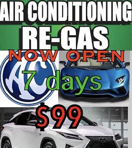 Wanted: Aircon regas / full services for A - Z  car makes