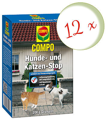 Savings Set: 12 X Compo Dogs- And Cat Stop, 200 G