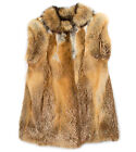 Women's Fox Fur Vests