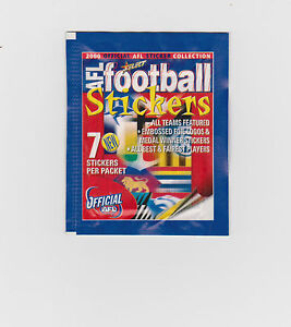 2000-Select-AFL-Stickers-Full-Set-of-270-Plus-18-Mascot-Stickers-Sealed-Pack