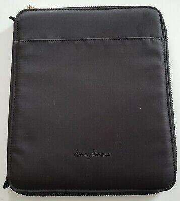New - Tommy Bahama Cloth Business Portfolio Zippered - Notebook Binder Organizer