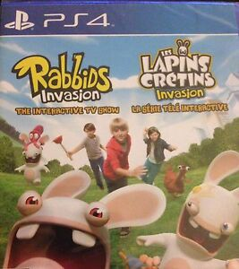 PS4 Rabbids Invasion - $15 new sealed