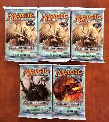 MTG Magic the Gathering FUTURE SITE lot of 5 Sealed Booster Packs ENGLISH