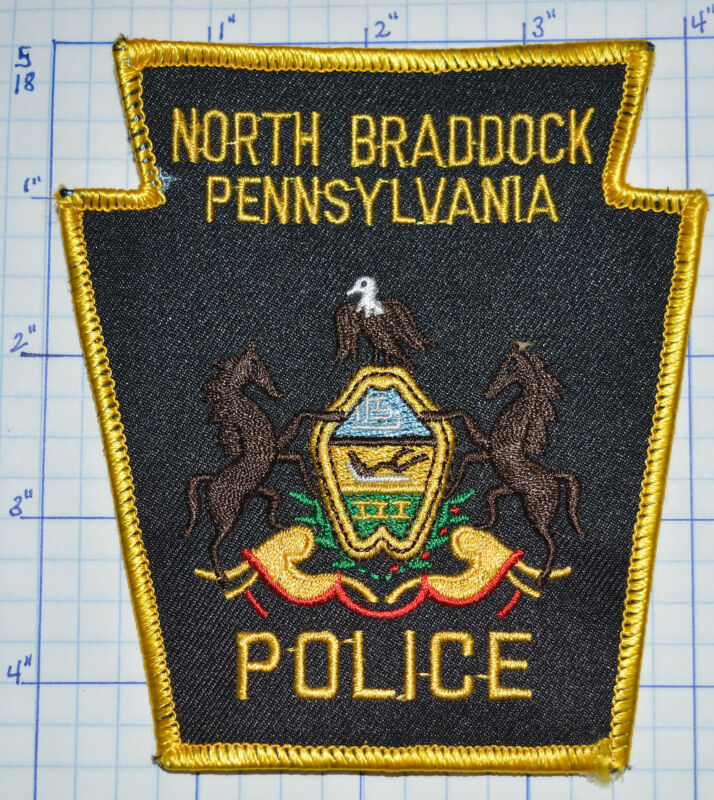 LOUISIANA, NORTH BRADDOCK POLICE DEPT PATCH