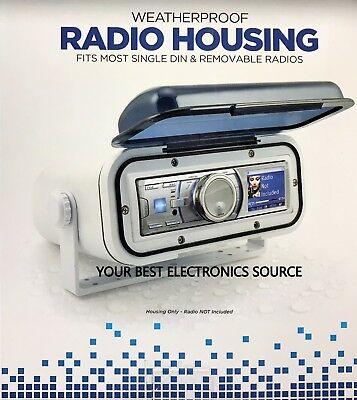 NEW Metra 99-9006 Marine Radio Housing - Universal, Single DIN Metra Marine