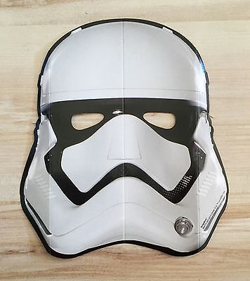 original STAR WARS Maske STORMTROOPER one size KARNEVAL Fasching Kostüm NEU (Storm Trooper Maske)