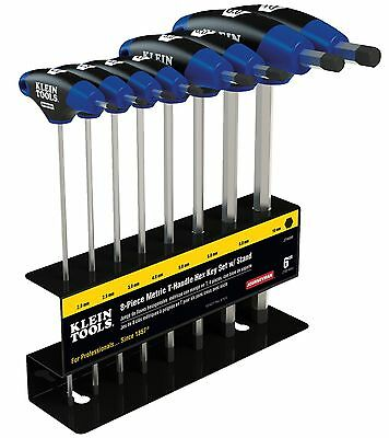 Klein Tools Jth68m 8pc 6 Metric Journeyman T-handle Set With Stand