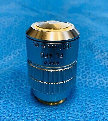 Leitz Pl Apo Plan Apochromat 100x1.32 Oil With Iris 160mm