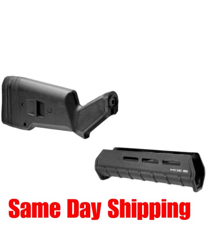 M-LOK Magpul For Mossberg 500/590 SGA Stock Forend Combo Black MAG490 MAG494BLK