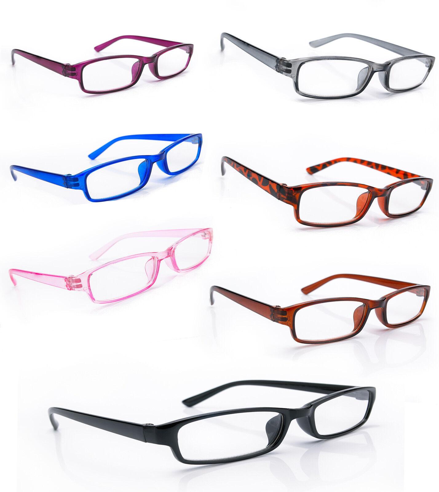 Damen Herren LESEBRILLE +0.5 +1.0 +2.0 +3.0 +4.0. Retro Brille