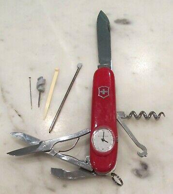 Rare Vintage Victorinox Timekeeper Officier Suisse Pocket Knife time keeper
