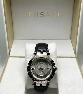 New In Box! Versace V Race Stainless Mens Ladies Watch (6320)