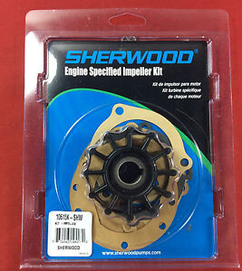 WATER PUMP IMPELLER SHERWOOD 10615K PLEASURECRAFT CRUSADER ONAN 10615K-SHW