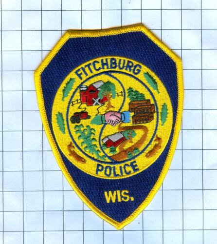 Police Patch  - Wisconsin - Fitchburg