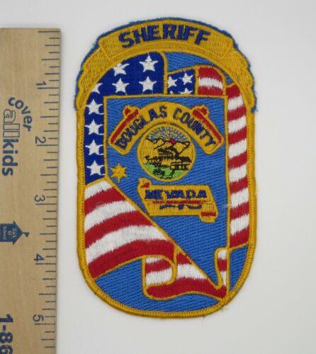 DOUGLAS COUNTY NEVADA SHERIFF PATCH Vintage Original