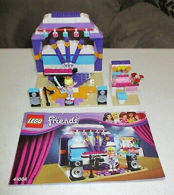 Lego 41004 Friends Stephanie's Rehearsal Stage ~ RETIRED ~ Complete w/Manual