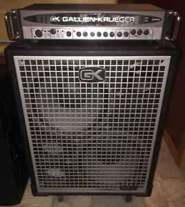 Gallien Krueger 400RB and Neo 212 Cab