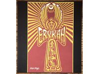 "EMEK Handbill Silkscreen Print GROOVE ARMADA Signed 7 X 5.75/"" like poster art"