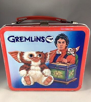 Vintage Gremlins Lunchbox with Thermos