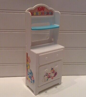 1997 Mattel Barbie Doll House Furniture Kelly Bedroom Changing Table Dresser