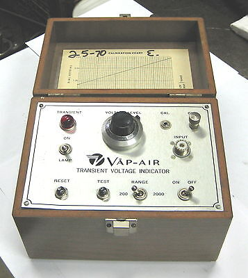 Vap Air Transient Voltage Indicator Mod 44 Vapor Htg Corp 26040044 Volt Meter