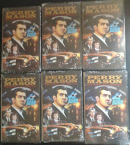 Lot of 6 New Perry Mason VHS Tapes Set The Colletor's Edition 2 Episodes On Each