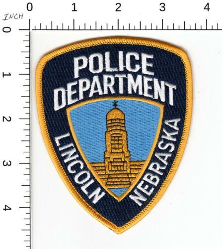 LINCOLN NEBRASKA CAPITAL POLICE DEPARTMENT PATCH NE