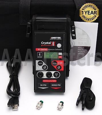 Ametek Crystal Is33-363000psi Series Pressure Calibrator Gauge Is33 36 3000psi