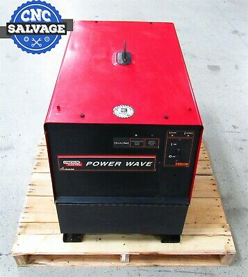 Lincoln Electric Welder Power Wave 220v Power Source Mig Tig 11311 455m