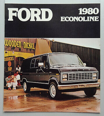 V16337 FORD ECONOLINE - CATALOGUE - 1980 - 23x28 - CND GB