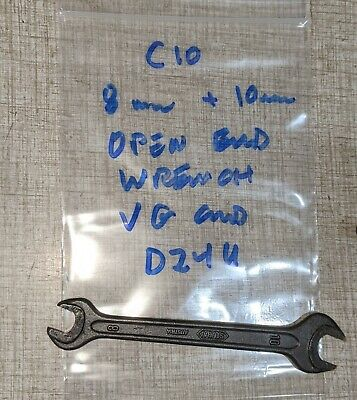Emco Compact 10 Lathe 8mm 10mm Open End Wrench D24u