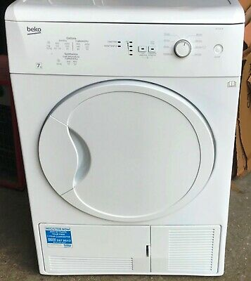 "Beko ""DC7112W"" 7kg White Condenser Tumble Dryer  NEW  RRP £229"