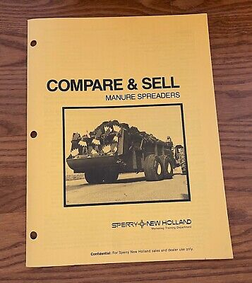 Compare And Sell Sperry New Holland 1981 Manure Spreaders 6135-876 681
