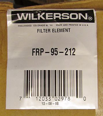 Wilkerson Frp 95 212 5 Micron Filter Element