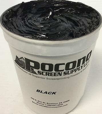 High Opacity Black Plastisol Ink