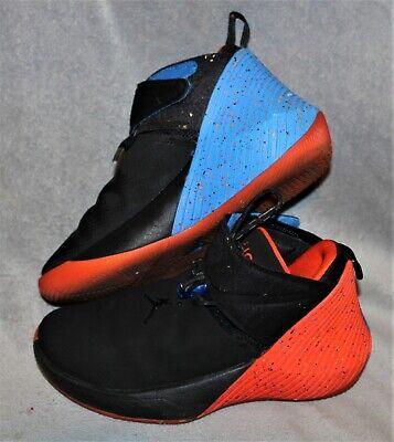 Nike Boys Shoes Size 5Y Jordans black red blue