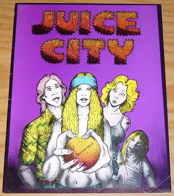 Juice City #1 FN (1st) print - doug hansen - hunt emerson - underground comix