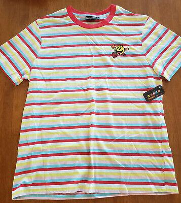 Namco Classic Video Game Pac-Man Embroidered Pac-Man Men's T-Shirt NWT XL