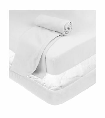Baby Playard Bundle Thermal Blanket 100 Soft Cotton Durable Material White Safe - $26.21