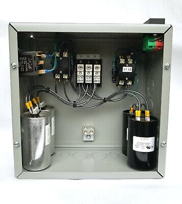 10hp Cnc Balanced 3 Phase Rotary Converter Panel 10 Year Warranty