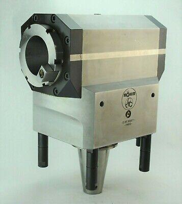 Rohm Morari Cat50 Right Angle Milling Head Attachment Cat50 Output Heavy Duty