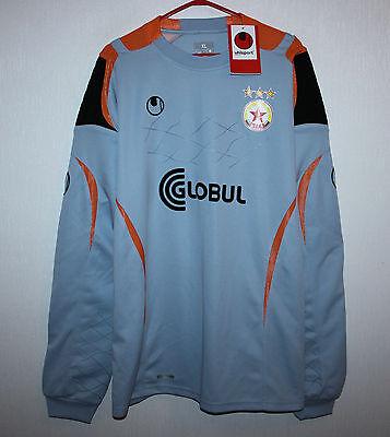 Rare PFC CSKA Sofia Bulgaria goalkeeper shirt 2011 #1 Chavdarov Size XL BNWT image