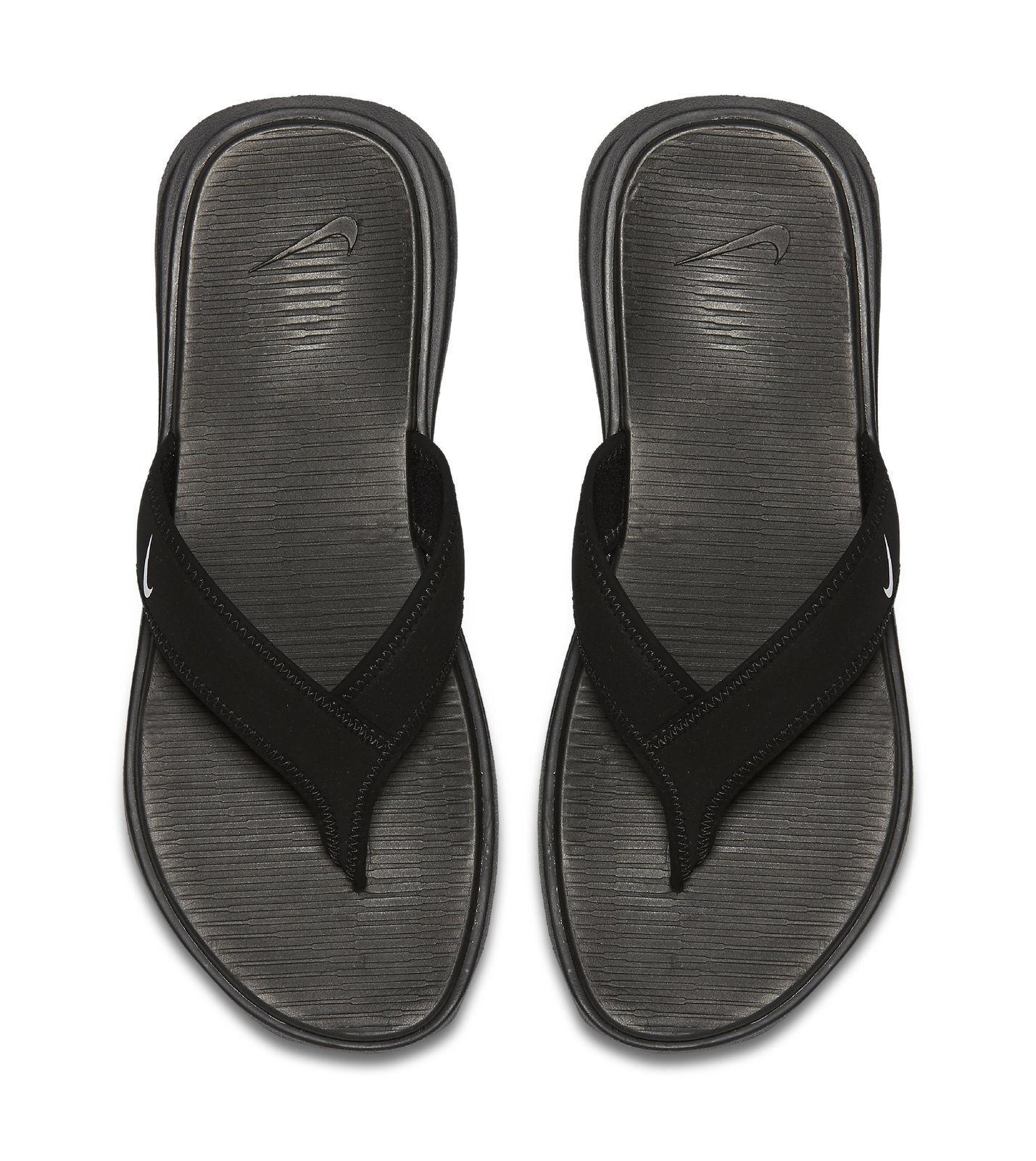 4371efaf187e9f Nike Ultra Celso Thong Flip Flops Mens Black white 002 8 for sale ...