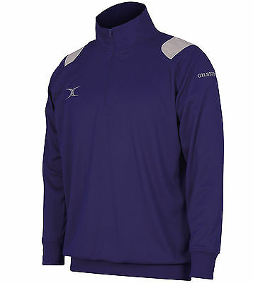 Clearance Line New Gilbert Rugby Verve Tracksuit Top Navy 9- 10 Years