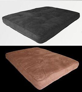 futon mattress 8 inch thick bed couch sofa microfiber