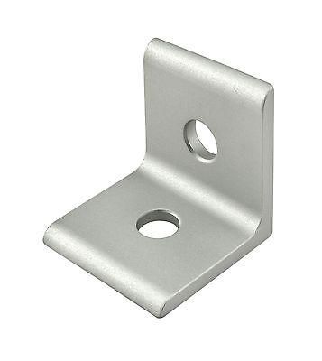 8020 Inc Aluminum 2 Hole Lite Inside Corner Bracket 25 Series 25-4108 N